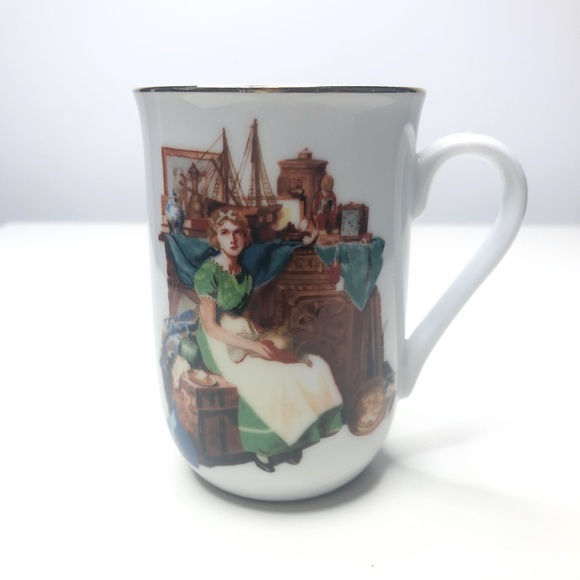 Museum Collections Dreams in the Antique Store Mug